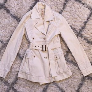 Short Free People Trench Coat